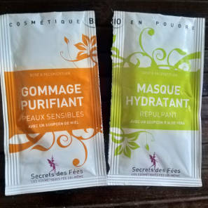 Ma routine gommage masque